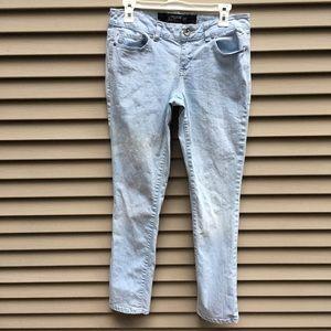 Grane light wash blue skinny jeans - 9S short
